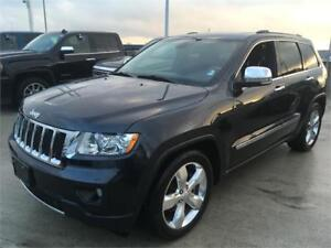 2012 Jeep Grand Cherokee Overland mint condition air suspension