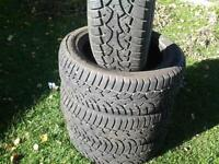 205\55 R16 STUDED WINTER TIRES FOR SELL