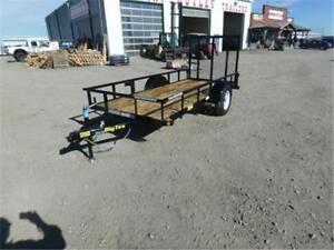 5 X 12 UTILITY TRAILER BY BIG TEX *2,995# GVWR* TAX IN PRICES!