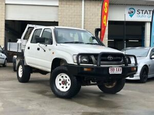 2003 Toyota Hilux LN167R MY02 White 5 Speed Manual Utility East Brisbane Brisbane South East Preview