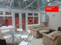 5 DOUBLE BED 4 BATH HOUSE- GARDEN AND CONSERVATORY IN ISLE OF DOGS CANARY WHARF BARNSFIELD PLACE