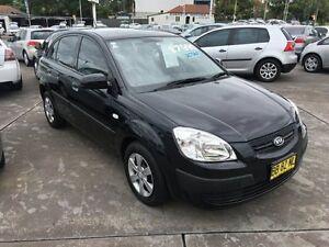 2009 Kia Rio Black Automatic Hatchback Homebush Strathfield Area Preview
