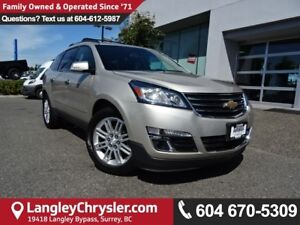 2014 Chevrolet Traverse 1LT *ACCIDENT FREE*ONE OWNER*