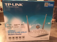 TP-LINK Wireless Modem Router