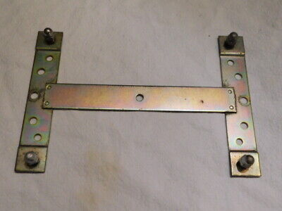 Volvo License Plate Bracket Front or Rear Universal Fit with 4 nuts.