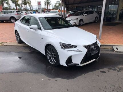 2017 Lexus IS350 GSE31R F Sport White 8 Speed Sports Automatic Sedan