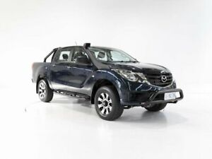 2019 Mazda BT-50 UR0YG1 XT Blue 6 Speed Sports Automatic Utility Invermay Launceston Area Preview
