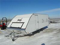 Mission 4 Place Aluminum Enclosed Trailer - 1/2 Ton Truck Ready!