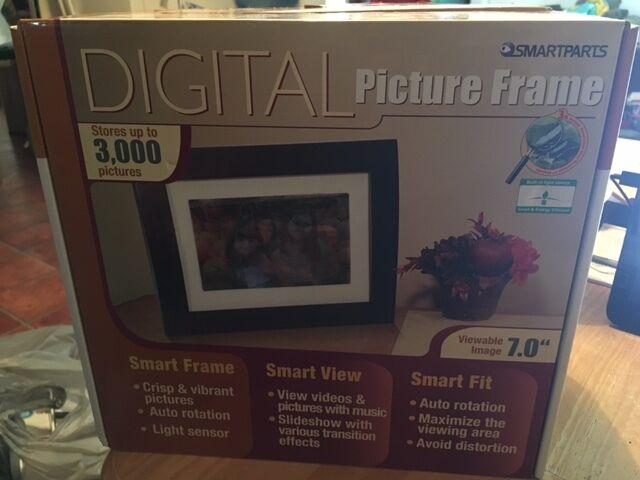 Brand Smartparts Spx7 Digital Frame 7 Wood W/syncpix Upc ...