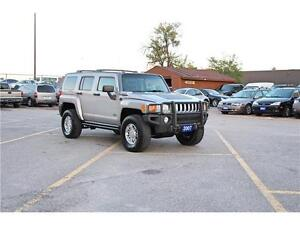 2007 HUMMER H3 5cyl 4X4*Certified*E-Tested*2 Year W