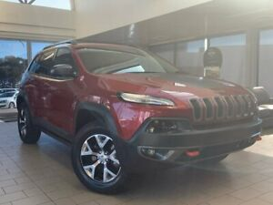 2014 Jeep Cherokee KL Trailhawk Red 9 Speed Sports Automatic Wagon Belconnen Belconnen Area Preview