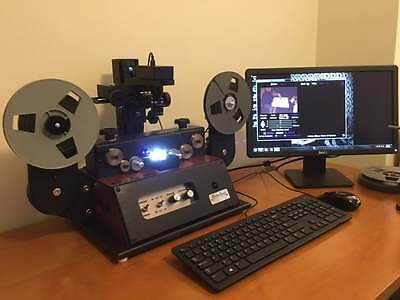 500 FT Regular 8mm, Super 8, 16mm movie film transfer to DVD or High Definition
