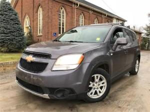 2012 Chevrolet Orlando 1LT - VERY CLEAN - 129KM - CERTIFIED
