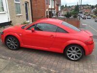 Audi TT Quattro red leather