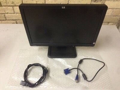 "HP LE1901W 19"" WIDE SCREEN LCD FLAT PANEL COMPUTER MONITOR VGA FREE SHIPPING"