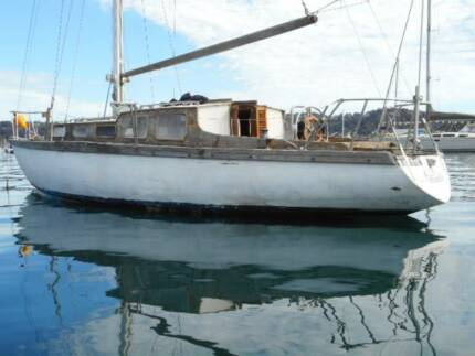Buchanan 35ft Classic yacht Need Full Restoration (pittwater Nsw)
