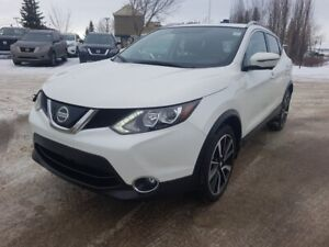 2018 Nissan Qashqai AWD SL Navigation (GPS),  Leather,  Heated S