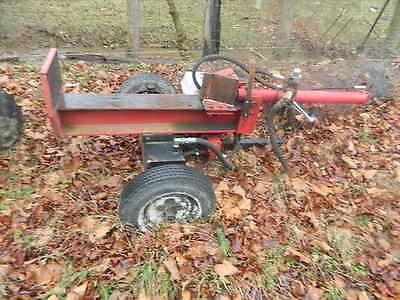 Home made Log Splitter Heavy Duty.Honda Engine