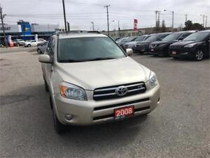 2008 Toyota RAV4 Limited Fully Loaded Leather Sunroof  Certified