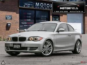 2009 BMW 1 Series 128i Sport *ACCIDENT FREE, CERTIFIED, LOADED*