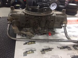 850 Holley double pump