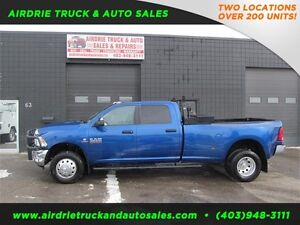 2014 Ram 3500 SLT 4X4 Crew Cab Long Box Diesel Dually