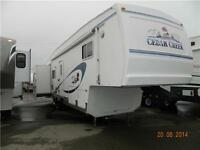 PRICE REDUCED ! 2004 FOREST RIVER CEDAR CREEK 36 TLTS