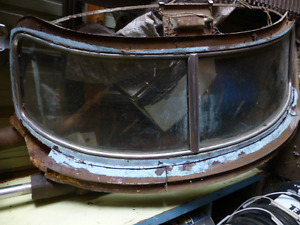 1954/55 Studebaker Split Rear Windshield