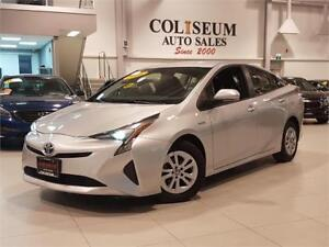 2016 Toyota Prius HYBRID-CAMERA-FACTORY WARRANTY-ONLY 27KM