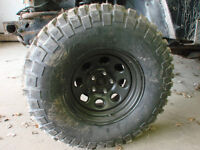 4x32 inch brand new never used off road tires with rims