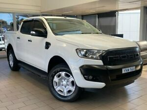 2015 Ford Ranger PX MkII XLT Double Cab White 6 Speed Sports Automatic Utility Belconnen Belconnen Area Preview