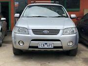 2004 Ford Territory SX Ghia (RWD) Silver 4 Speed Auto Seq Sportshift Wagon Werribee Wyndham Area Preview