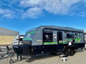 "2021 Masterpiece Performance 22'6"" Family Van Triple Bunk Full Off Road Rockingham Rockingham Area Preview"