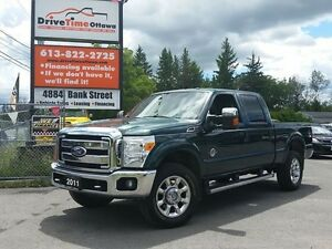 2011 Ford Super Duty F-350 XLT CREW CAB 4X4 DIESEL with XTR PLUS