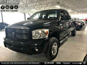 2007 DODGE RAM 2500 SPORT-4X4-QUAD-CUMMINS-UCONNECT-