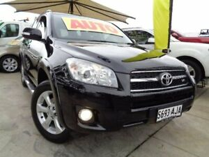 2010 Toyota RAV4 GSA33R MY09 ZR6 Black 5 Speed Automatic Wagon Enfield Port Adelaide Area Preview