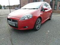 Fiat Punto sporting tj 1.4 turbo (full years mot)