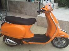 2010 LX150 ie VESPA - Orange (LEARNER APPROVED) only 1576 kms! Clontarf Manly Area Preview
