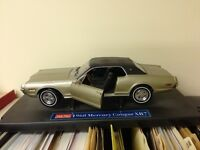 Scale Model of 1968 Cougar