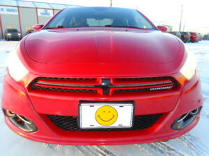 2013 DODGE DART 2.0  SXT SPORT PKG--6 SPEED--ONLY 55,000KM