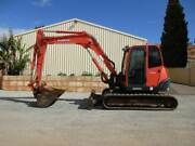 EXCAVATOR KUBOTA KX080-3 DIGGER 8 TONNE 2013 MODEL Pickering Brook Kalamunda Area Preview