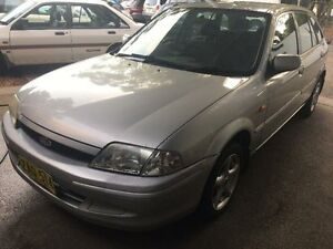 2000 Ford Laser KN LXI Silver 4 Speed Automatic Sedan West Ryde Ryde Area Preview