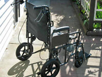 Invacare Extra-Wide Bariatric Transport Wheelchair For Sale