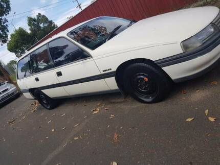 1989 HOLDEN VN BERLINA WAGON V6 AUTOMATIC COMMODORE