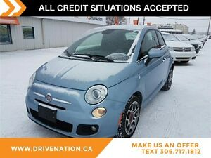 2015 Fiat 500 Sport FUEL EFFICIENT SUBCOMPACT HATCHBACK, FWD,...