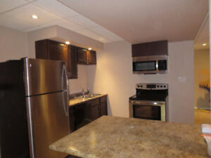 Available May 1. Bright 2 bedroom basement suite.