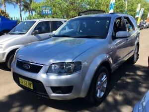 2010 Ford Territory SY Mkii TX (4x4) Silver 6 Speed Auto Seq Sportshift Wagon Campbelltown Campbelltown Area Preview