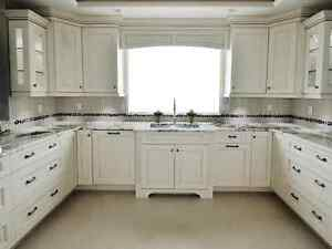 Kitchen cabinet painting and complete home painters.
