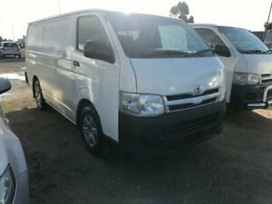 2012 Toyota HiAce Auto VVTI 4 Speed Automatic Van Carrum Downs Frankston Area Preview