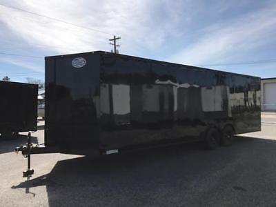 2017 8.5X24FT ENCLOSED DIAMOND CARGO TRAILER **Blackout Edition**